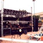 Aluguel de palco pequeno