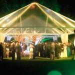 Aluguel de tendas para casamento