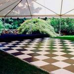 Locação de pisos para eventos