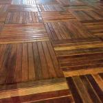 Montagem de piso