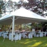 Montagem de tenda
